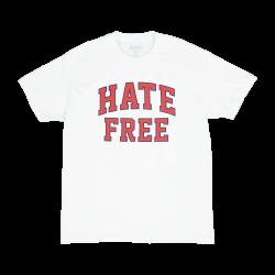 HATE FREE T-SHIRT WHITE