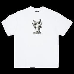 FETISH HEAVYWEIGHT T-SHIRT WHITE